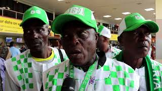 SUPER EAGLES SUPPORTERS DEPART FOR RUSSIA
