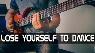 Daft Punk - Lose yourself to dance (bass cover by kabas)
