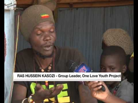 Rastafarians give Bwaise slum youth a chance to learn a skill