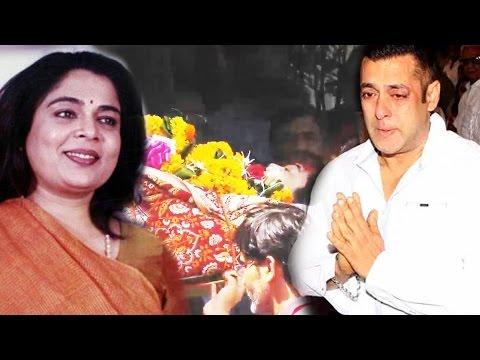 अभिनेत्री Reema Lagoo का निधन, Salman Khan की मां के रूप में थी पहचान