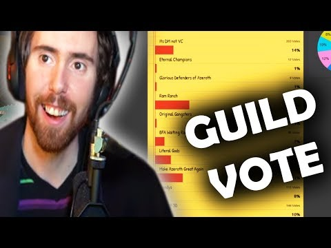 Asmongold's Viewers Vote To Decide His Classic WoW Guild Name