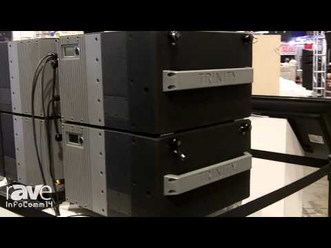InfoComm 2014: PK Sound Introduces New Trinity Line Array Speaker System