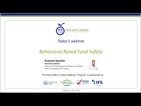 Behavioral Based Food Safety