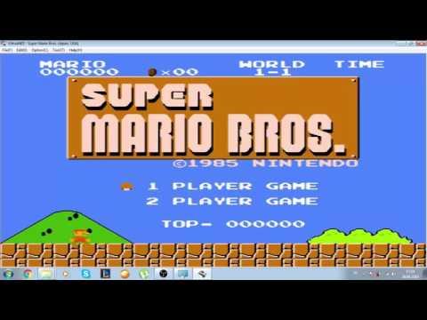 Bilgisayarda Atari Oyunu Oynamak. VirtualNES #Mario
