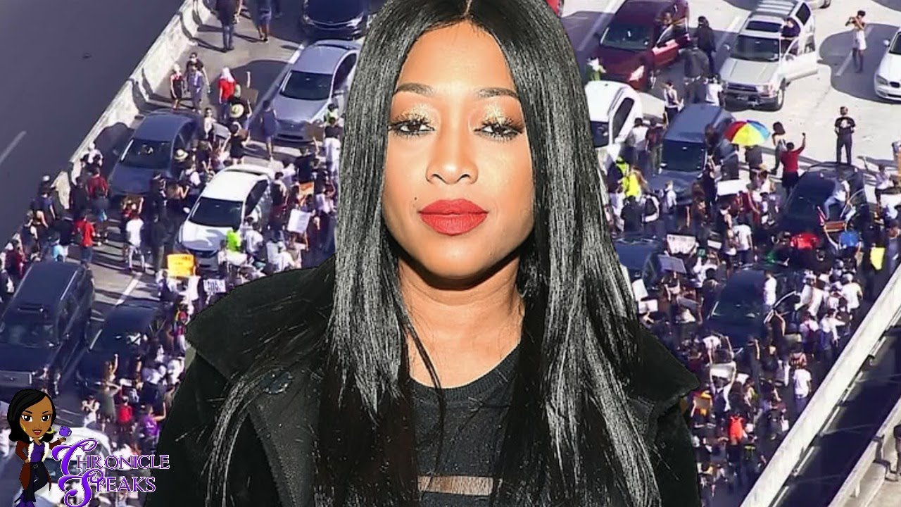 Trina RESPONDS To Backlash After Calling Protesters ANIMALS