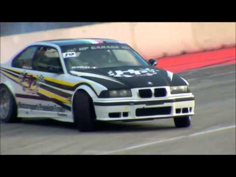 Drifting Show By VM Drift Team Motor Sport Arena Bologna Fiera Motor Show Crash Test Drive 2014