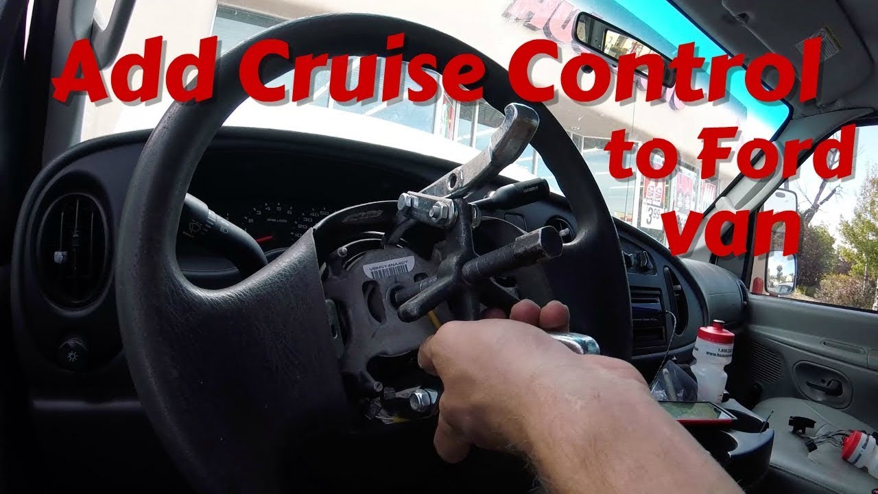 adding cruise control to a 2005 2008 ford econoline e150 e250 e350 van [ 1280 x 720 Pixel ]
