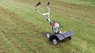 видео Аэрация и рыхление газона