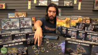 Dave's Space Wolves Army - Intro & Void Claw Formation