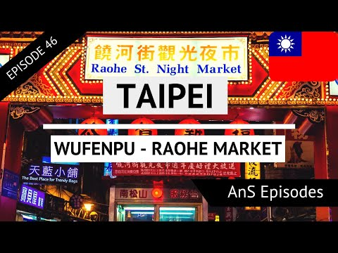 Taipei Vlog - Day 5 - WUFENPU, RAOHE NIGHT MARKET (EP 46)