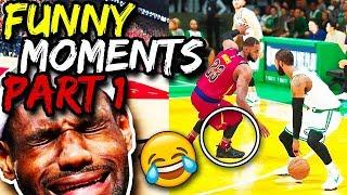 NBA 2K18 My Career - LEBRON JAMES BROKE HIS LEG! (FUNNY MEME COMPILATION)