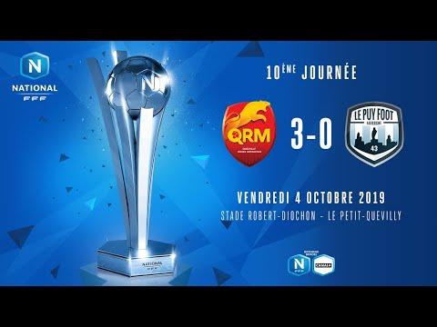 Qrm Calendrier.5 10 National Le Resume Video Du Match Qrm Le Puy Foot 3 0