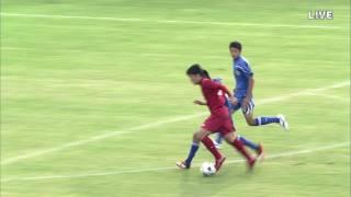 高校サッカー奈良大会 準決勝【五條・ 決勝点】
