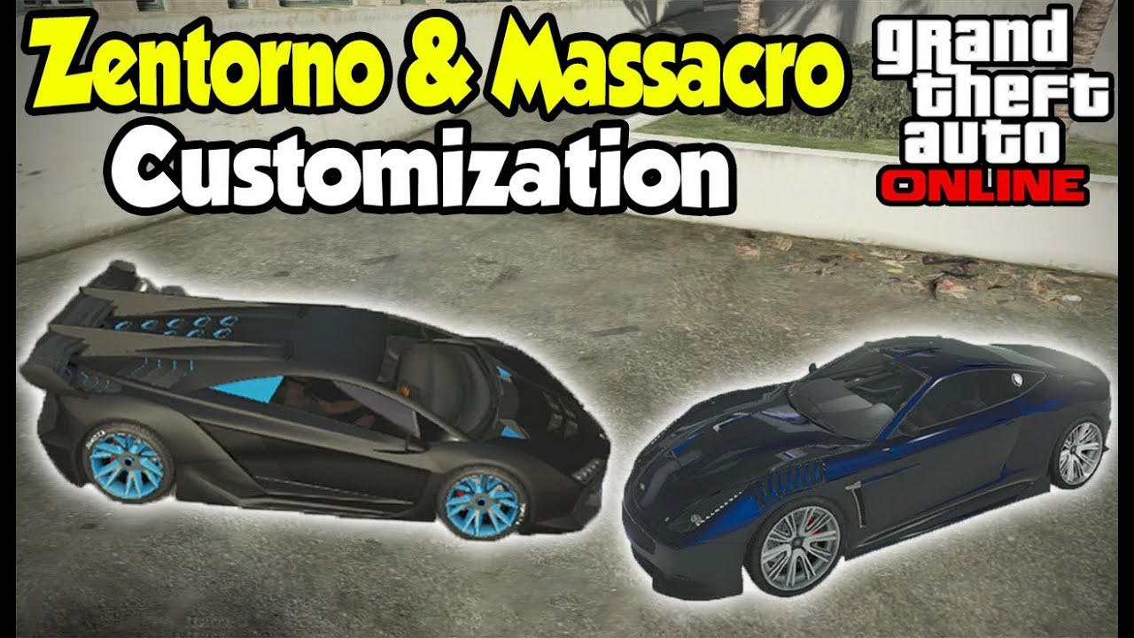 "GTA 5 Online - NEW ""PEGASSI ZENTORNO & MASSACRO ..."