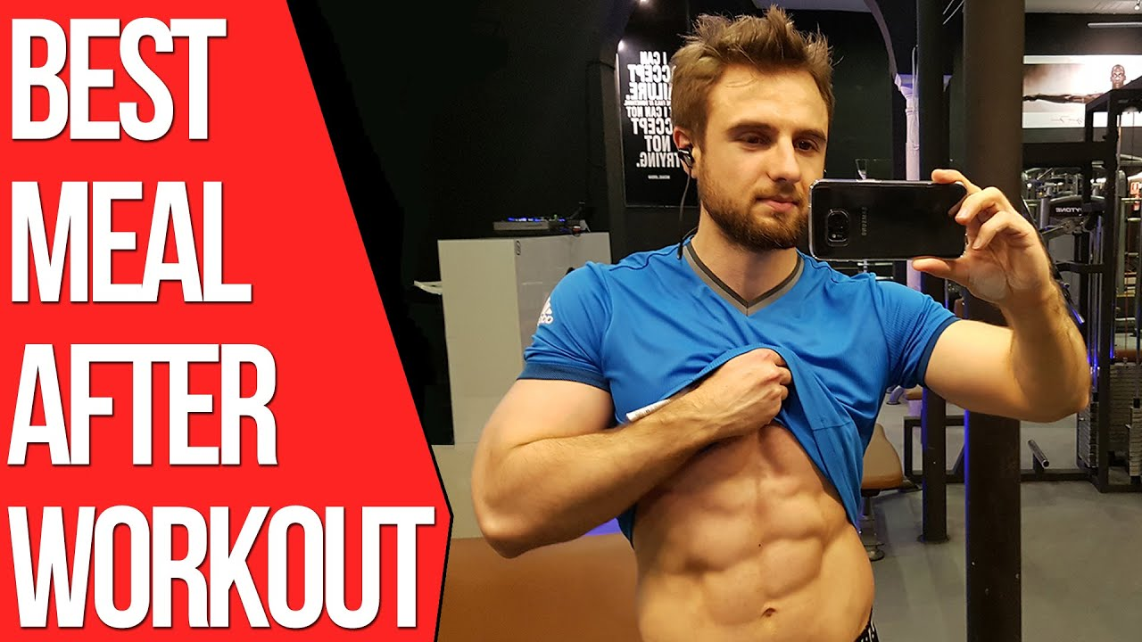 what to eat after a workout to build muscle and burn fat youtube