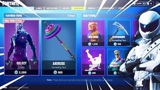 *NEW* LEAKED FORTNITE SKINS! Durr Burger Skin and Galaxy Skin! (Fortnite V5.2 Skins Leaked)