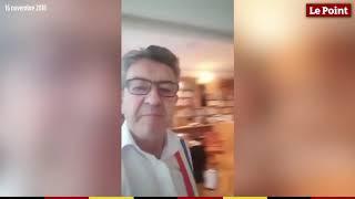 Jean-Luc Mélenchon se filme pendant une perquisition à son domicile