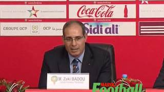 Déclaration Badou Zaki