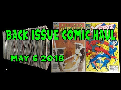 Back Issue Comic Haul May 6 2018