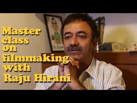 Masterclass in filmmaking with Rajkumar Hirani