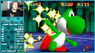 SM64 Online: 120 Star Speedrun as Yoshi in 2:19:42