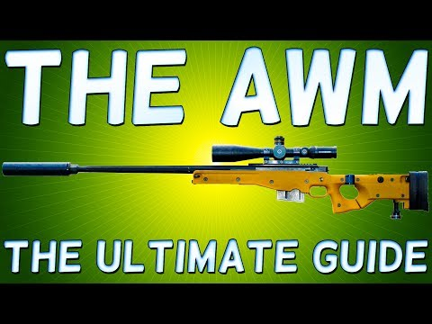 PLAYER Unknown's BATTLEGROUNDS AWM - THE BEST SNIPER RIFLE! BATTLEGROUNDS AWM - MONSTER SNIPER RIFLE