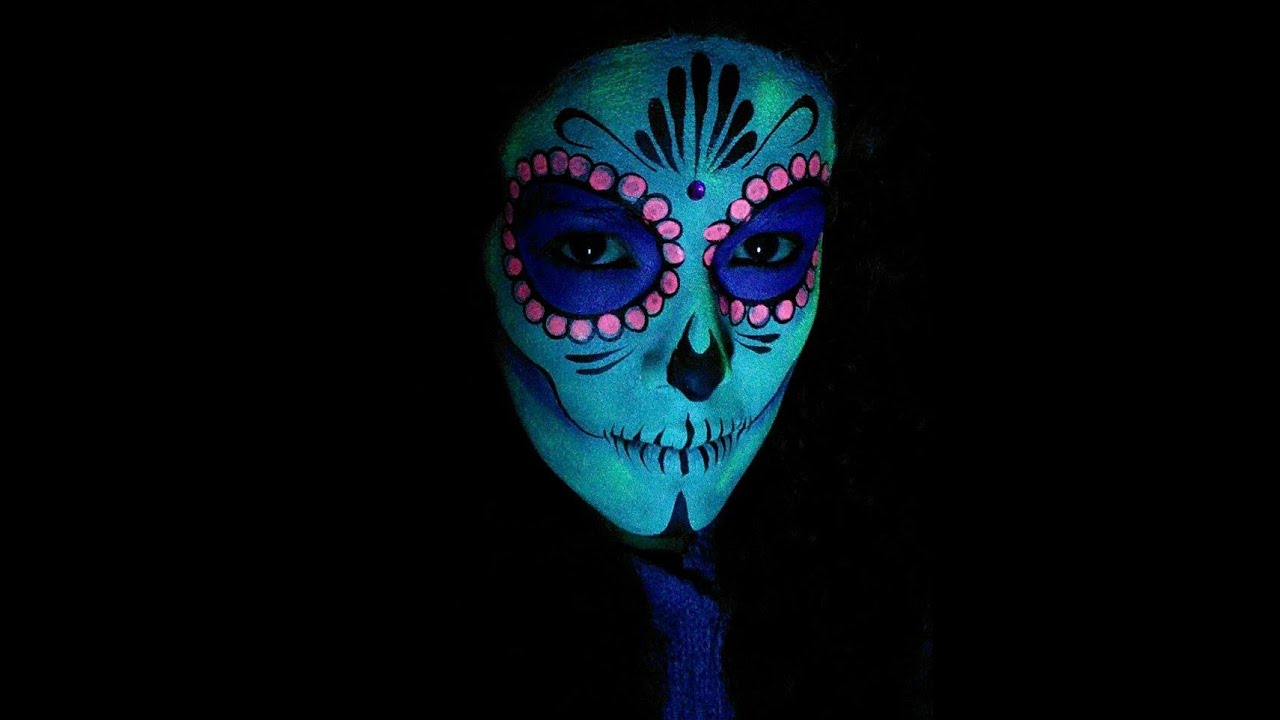 Catrina Mexicana que brilla de noche