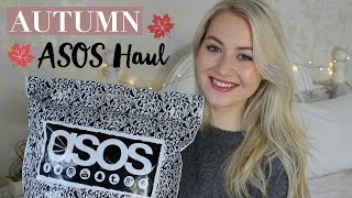 Autumn ASOS Haul | Meg Says