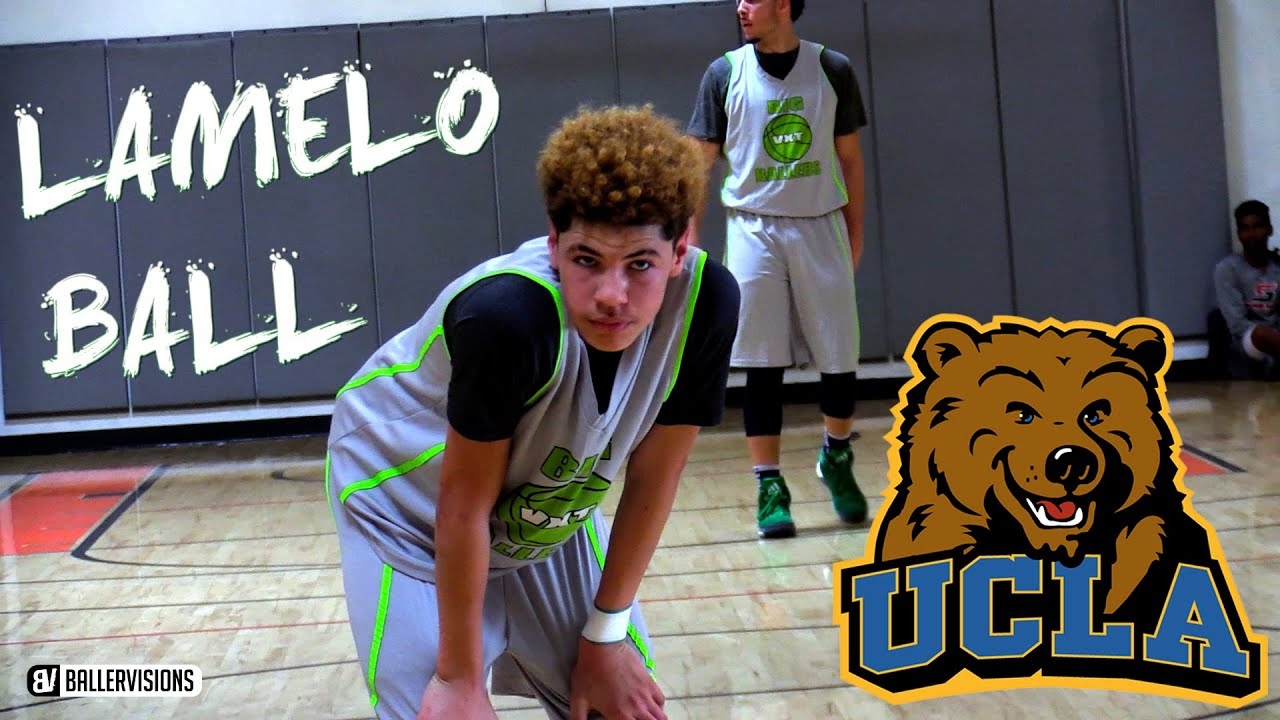 LaMelo Ball Summer 16 Mixtape | 15 Year Old Ball Brother Has Unlimited ...