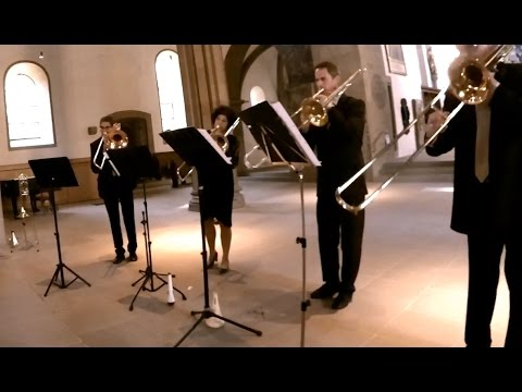 Choral JSBach Jesu meine Freude for trombone quartet