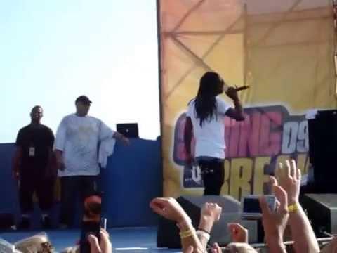 Lil Wayne's 1st Spring Break in 2009 - Mrs. Officer f. Drake LIVE in PCB