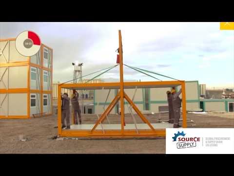 Source Supply Logistics - your procurement partners - folding prefabs