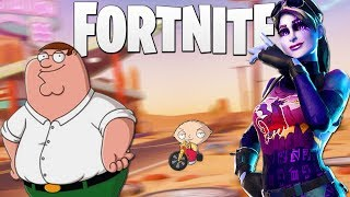 FAMILY GUY VOICE TROLLING ON FORTNITE BATTLE ROYALE!