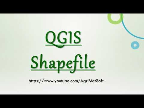 QGIS Create Shapefile