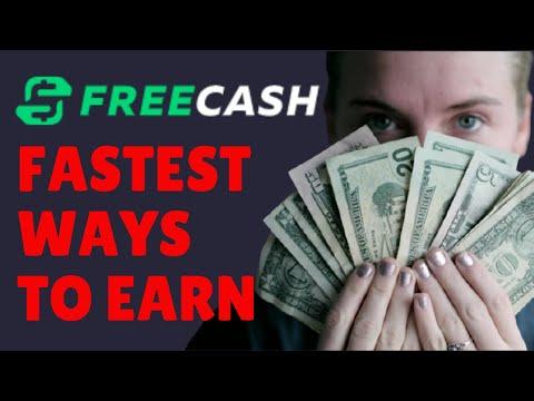 Freecash Make Money Online Fast New Bonus Added