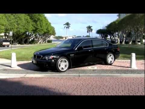 2008 BMW 760Li Jet Black Community Auto Sales Palm Beach
