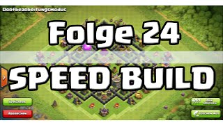 SPEED BUILD - COC [024] TH 8 - Trophy Base (Fredi) | Let's Play Clash of Clans [Deutsch/HD]