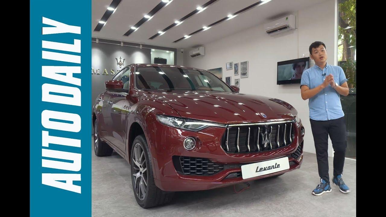 Tìm hiểu chi tiết Maserati Levante màu độc nhất Việt Nam giá hơn 6,1 tỷ đồng |AUTODAILY.VN|