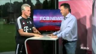 FCB News vom 01.09.2012   Gast: Jupp Heynckes