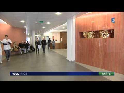JT Local Fr3 19/20 - CHU Nice : Institut Universitaire de la face et du coup