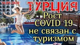 Отдых в Турции 2020 ☀ Коронавирус в Турции: Рост коронавируса в Турции не связан с туризмом