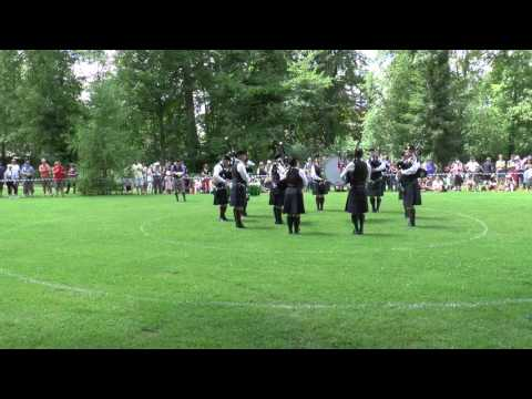 Pipes and Drums of Basel, Angelbachtal 2016, MAP