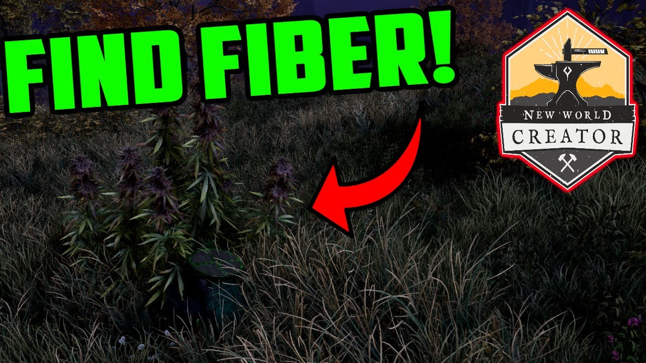 How To Find Fiber in New World