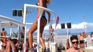 Pag - Zrce Beach - Most beautiful GoGo dancers 2015
