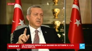 """EXCLUSIF Recep Tayyip Erdogan : """"Dire que nous achetons du pétrole à Daech est une calomnie"""""""