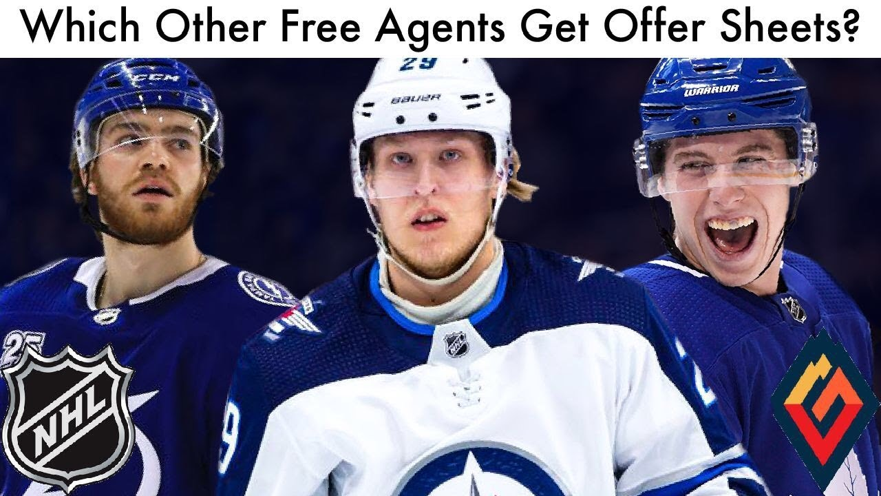 Which Other Free Agents Get Offer Sheets Nhl Free Agency Rumors
