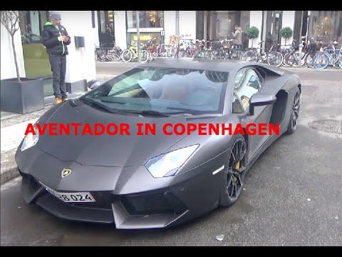 lamborghini Aventador in Copenhagen