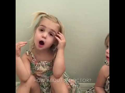 WHAT U WANNA BE WHEN GROW UP?? Funny Kids Conversation