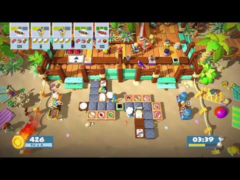 Overcooked 2: Surf n'Turf 3-4 (Solo 1,146) |