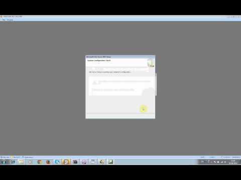 Cách sửa lỗi không tìm được máy chủ SQL  MISA 2015